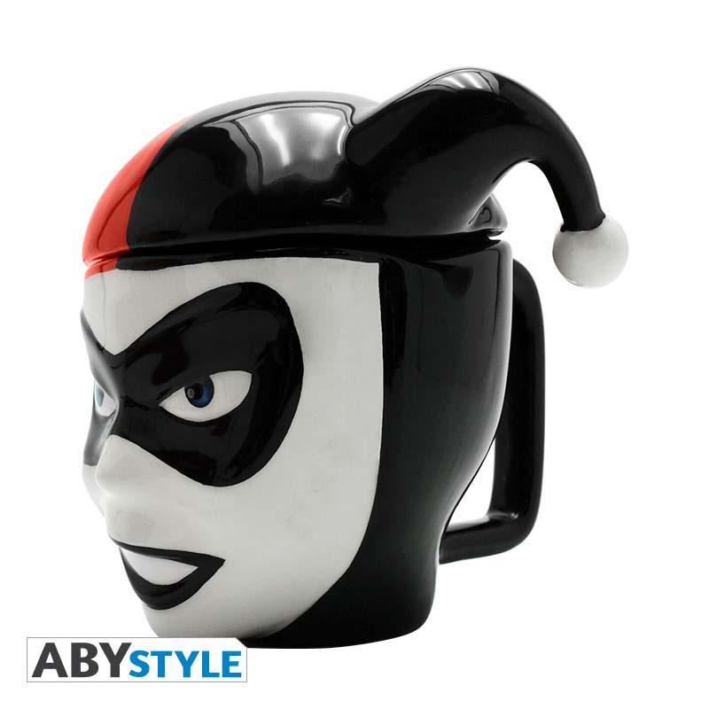 Taza Harley Quinn 3D