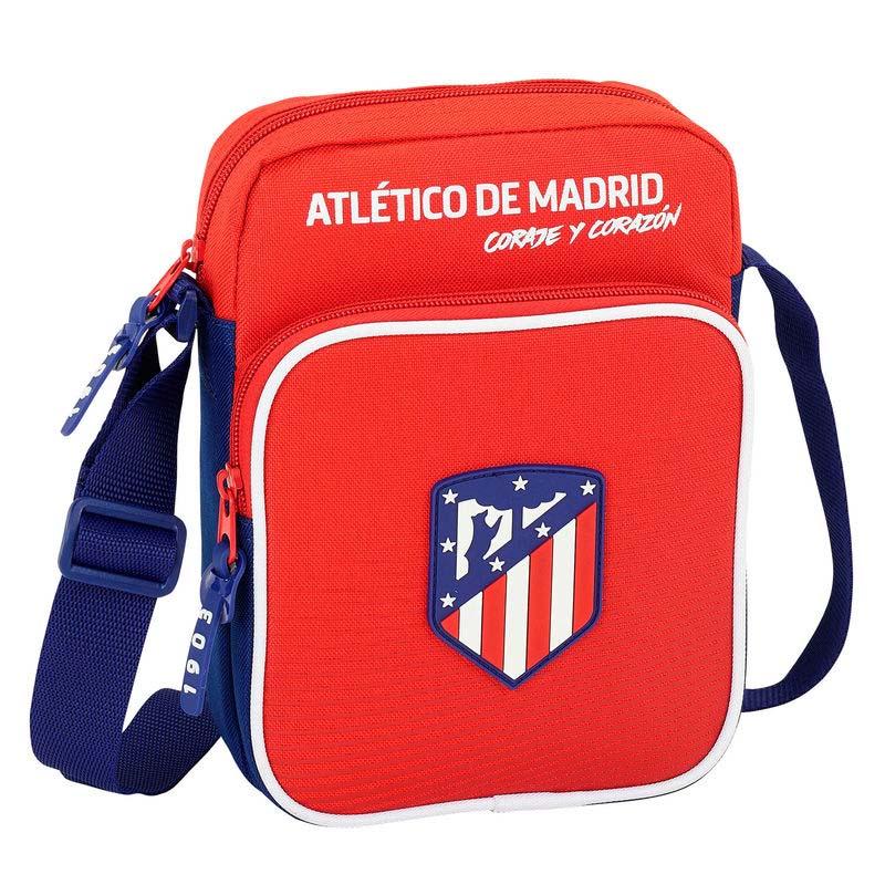 Bandolera Atlético De Madrid Cremallera Doble