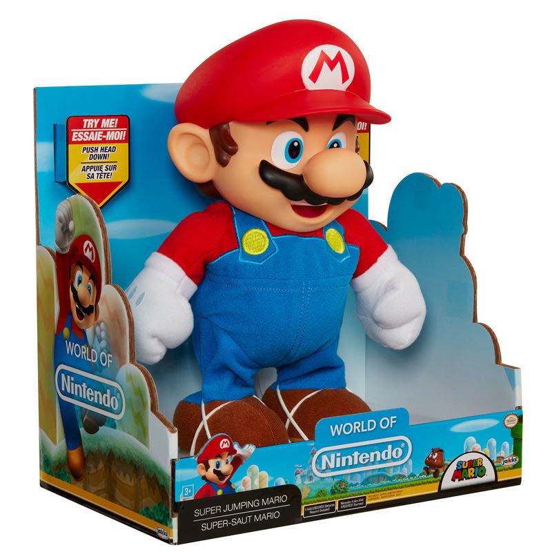 Figura Mario Bros Saltarin