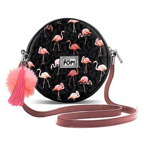 Bolso Flamenco Negro Oh My Pop