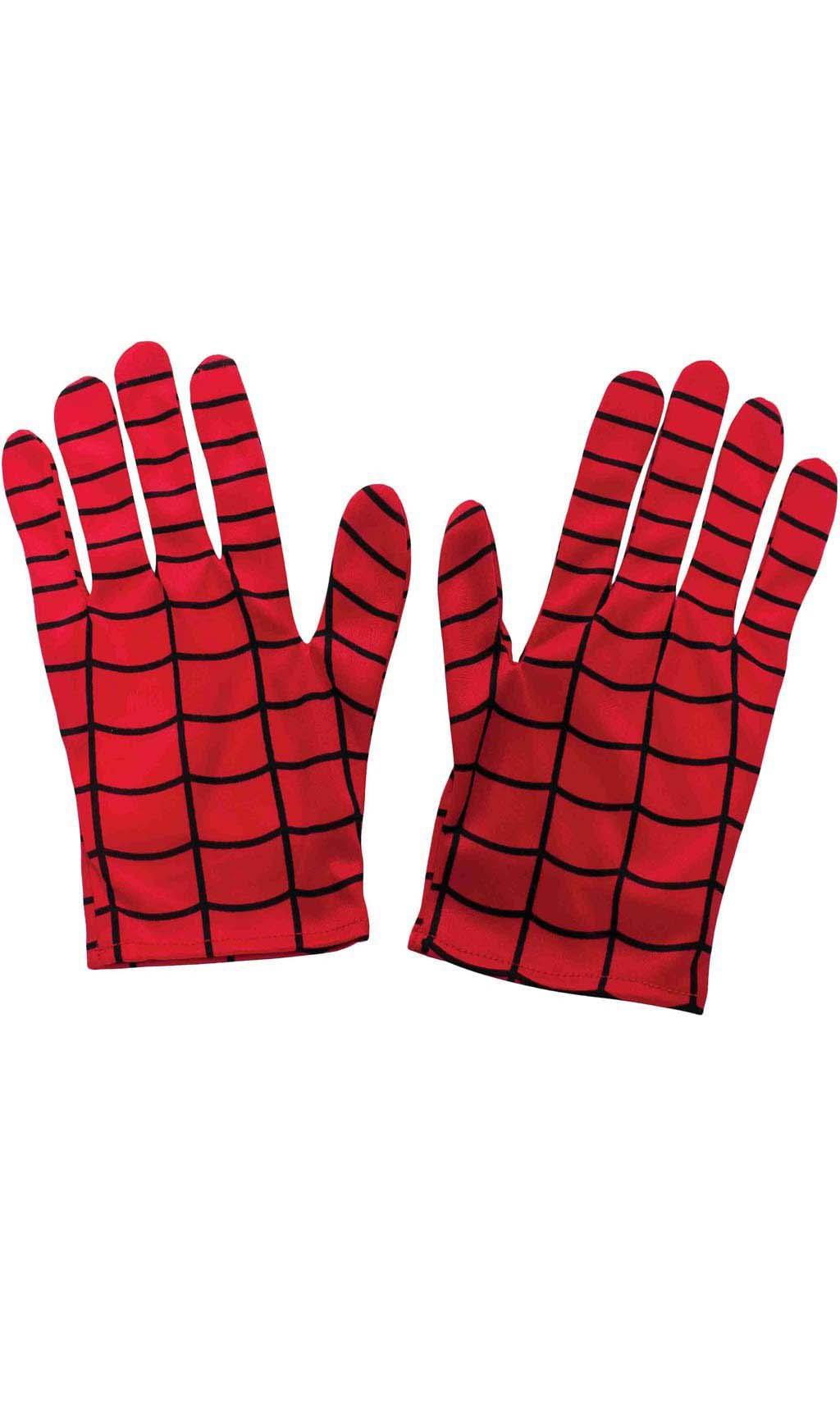 Guantes Spiderman Tela