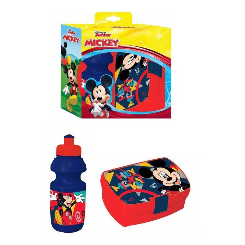 Pack Botella Sandwichera Mickey
