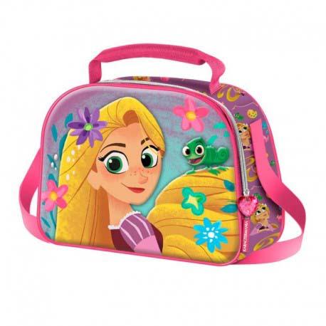Bolso Portamerienda Rapunzel