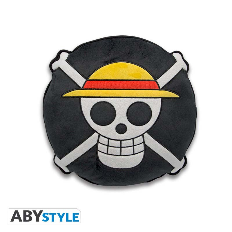 Cojin One Piece Emblema Pirata