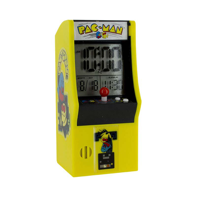Reloj Despertador Arcade Pacman