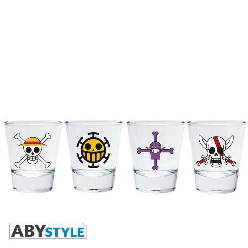 Vasos De Chupito One Piece 4 Uds