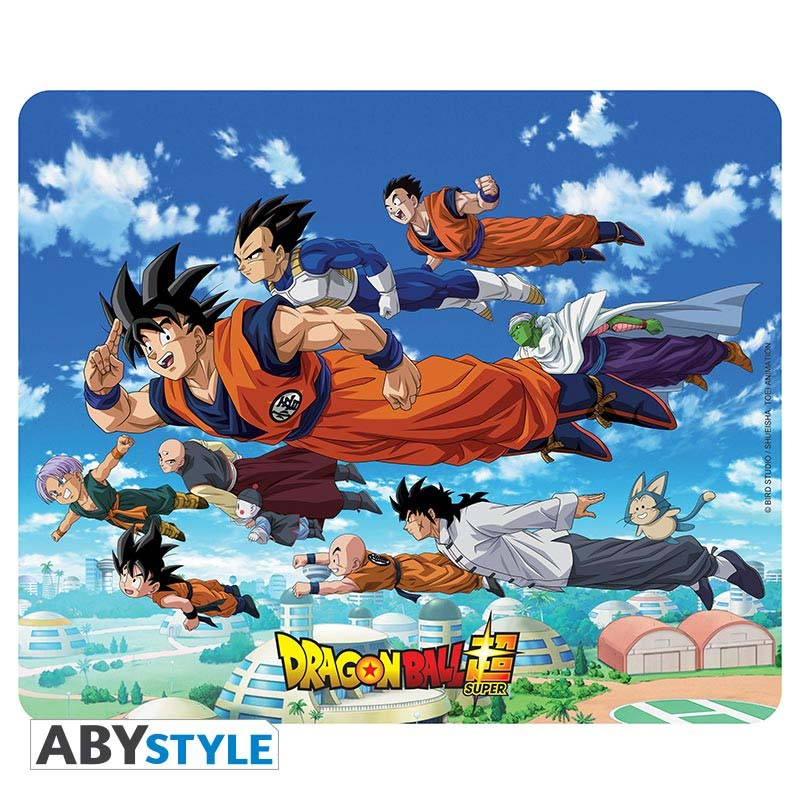 Alfombrilla Dragon Ball Grupo Volando