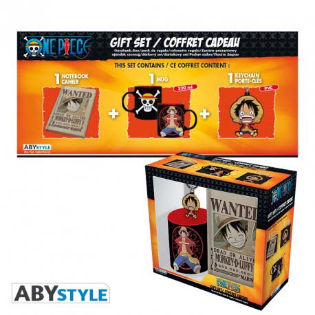 Pack One Piece Taza Llavero Diario