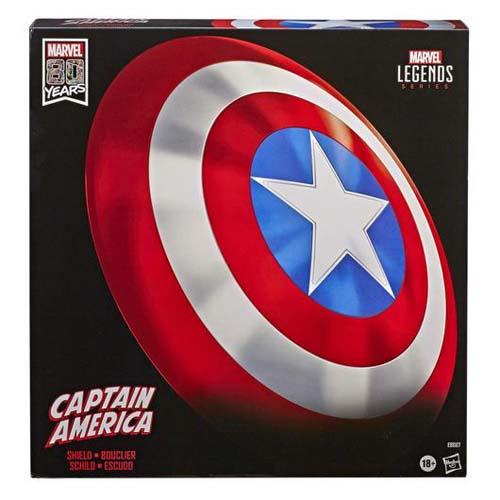 Escudo Capitan America Ed. 80 Aniversario Marvel Legends