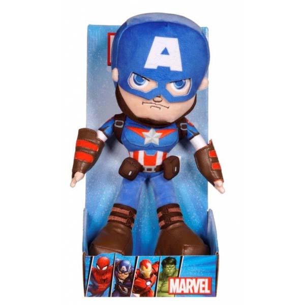 Peluche Capitan America Marvel Con Caja