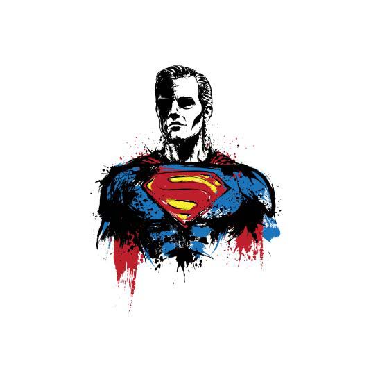 Camiseta Superman Return Of Kryptonian Talla L