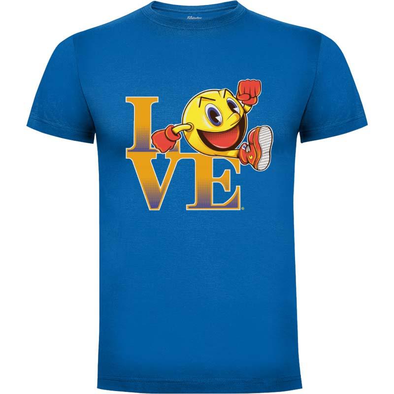 Camiseta Pacman Arcade Love Talla M
