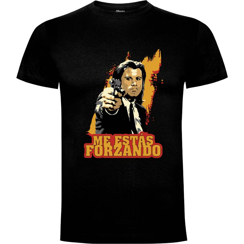 Camiseta Pulp Fiction Talla M