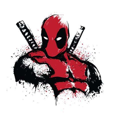Camiseta Deadpool Talla L