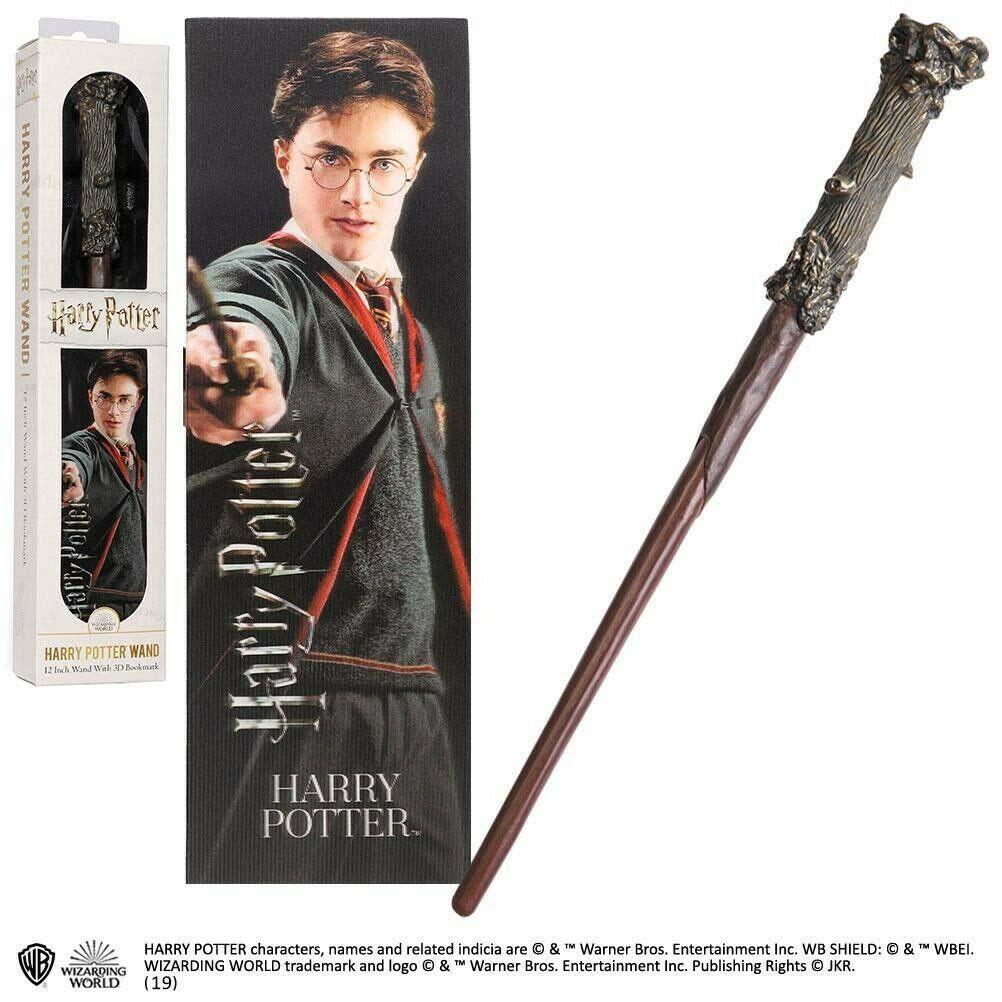 Varita Harry Potter + Marca Paginas