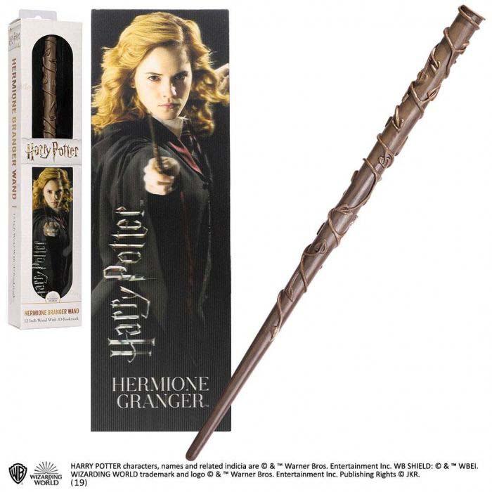 Varita Hermione Harry Potter + Marca Paginas