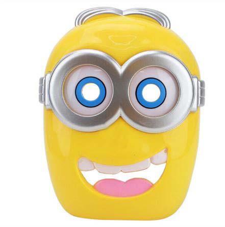 Mascara Infantil Minions 02 Con Led