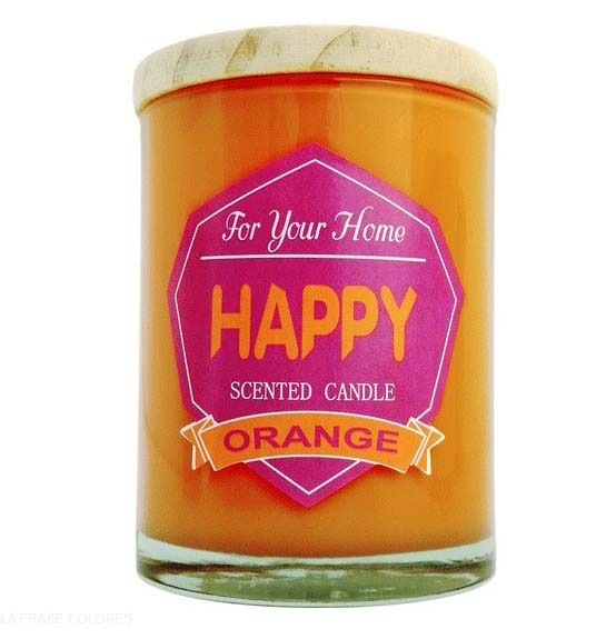 Vela Aromatica Happy Orange For You Home