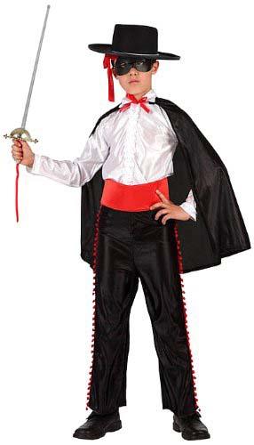 Disfraz El Zorro Talla 3 Niño