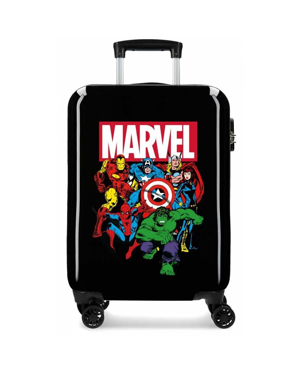Maleta De Viaje Marvel Vengadores Negra