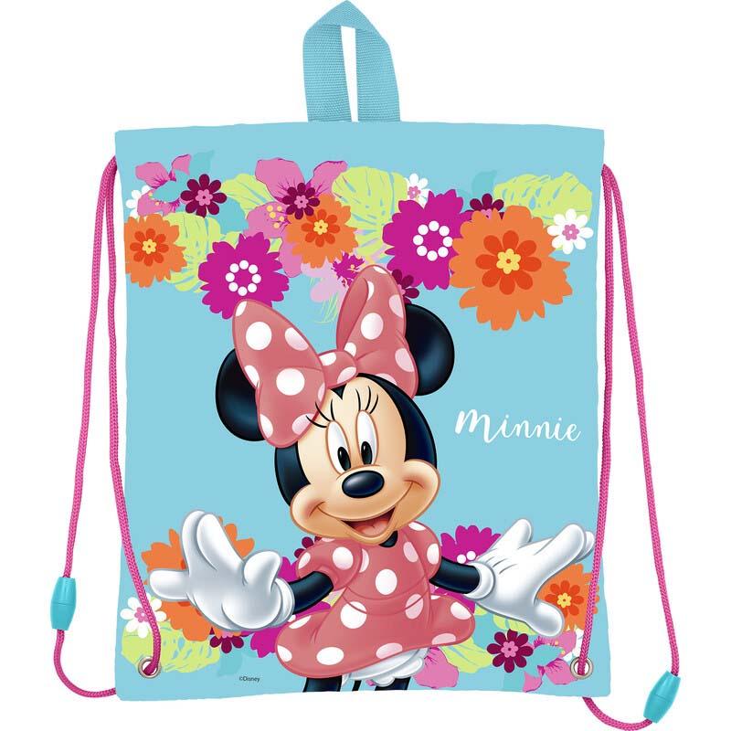 Saco Infantil Minnie Mouse Flores