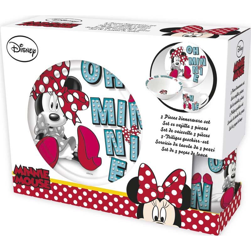 Pack Merienda Ceramica Oh Minnie