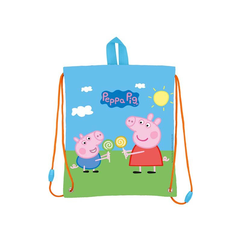 Saco Infantil Peppa Pig Paisaje