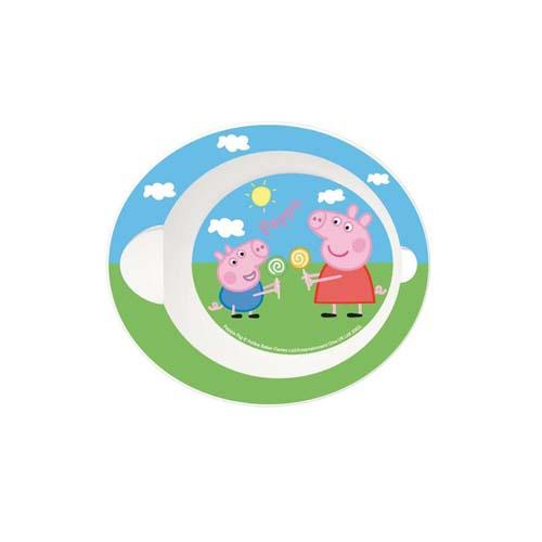 Cuenco Pp Ovalado Microondas Peppa Pig