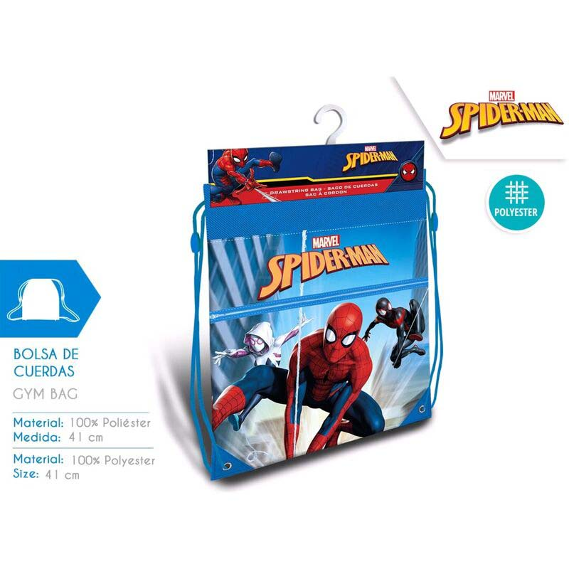 Saco Infantil Spiderman
