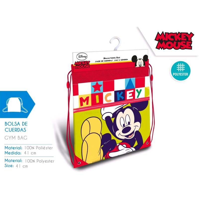 Saco Infantil Mickey Mouse Colores