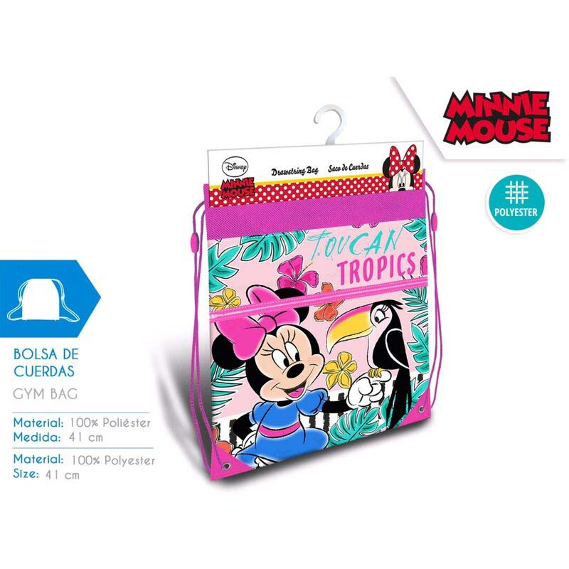 Saco Infantil Minnie Mouse