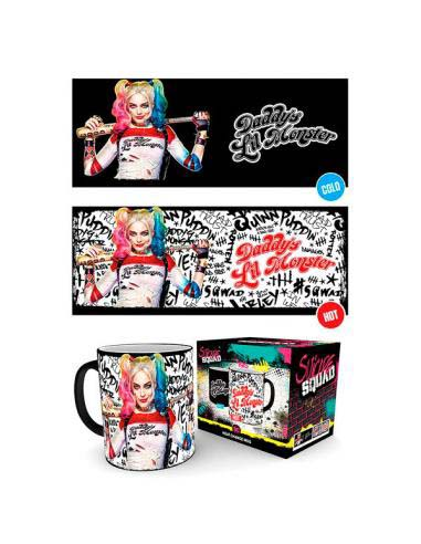 Taza Termica Harley Quinn Daddys Lil Monster Dc Comics