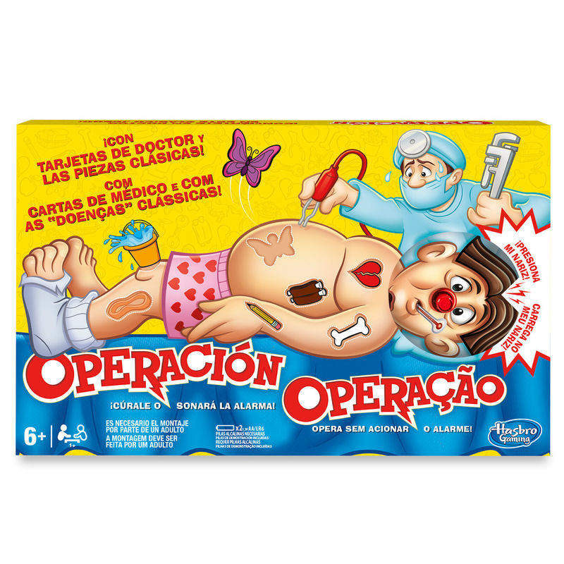 Juego Operacion Hasbro