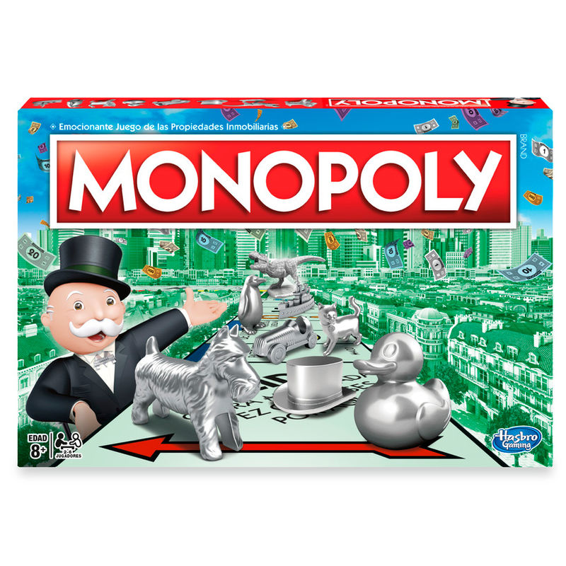 Juego Monopoly Clasico Hasbro