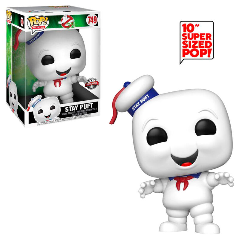 Figura Funko Pop Ghostbusters Stay Puft Exclusive 25Cm