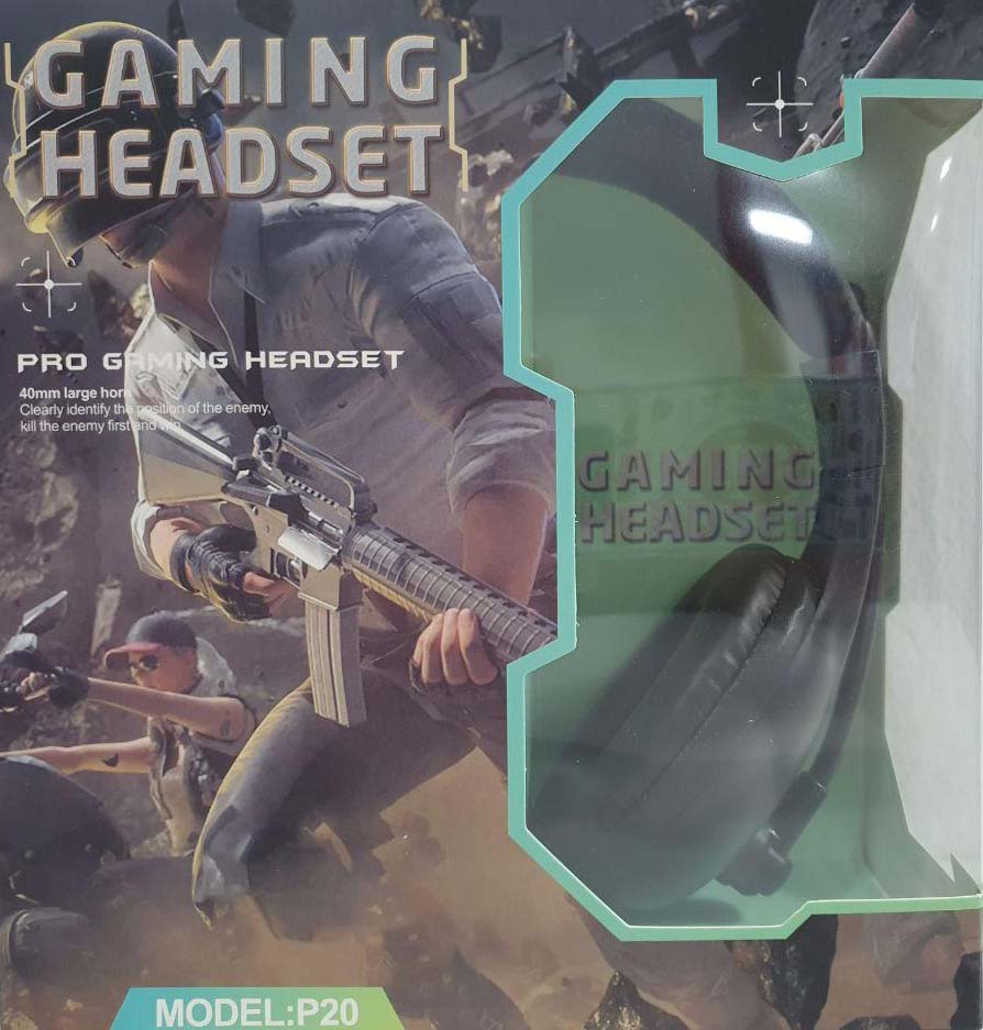 Auriculares Gaming Headset Modelo P20