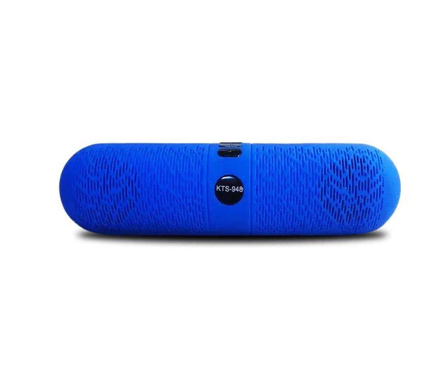 Altavoz Bluetooth Kts-948 Azul