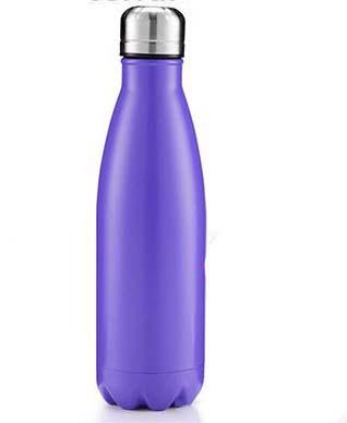 Botella De Aluminio Adulto Lila