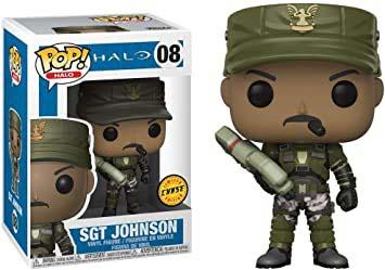 Funko Pop Halo 08 Sgt Johnson