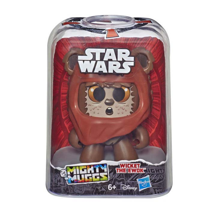 Mighty Muggs Star Wars The Ewok Hasbro