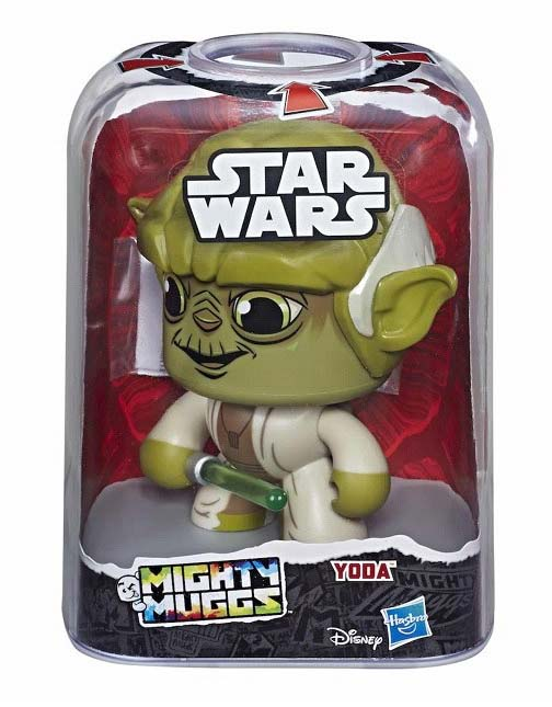 Mighty Muggs Star Wars Yoda Hasbro