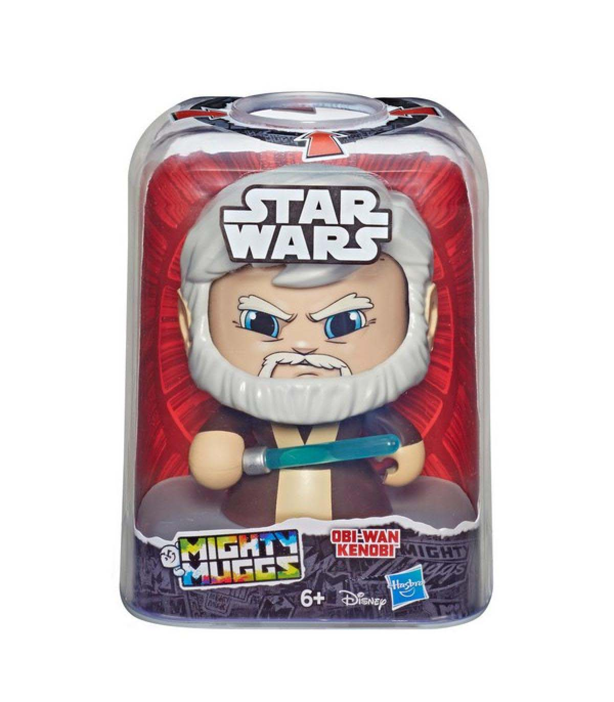 Mighty Muggs Star Wars Obi Wan Hasbro