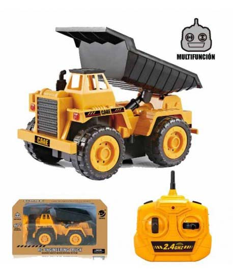 Camion Volquete R/C ,5 Canales 2,4 Gh