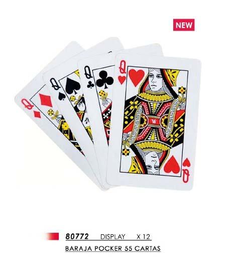 Baraja Naipe Poker 55 Cartas