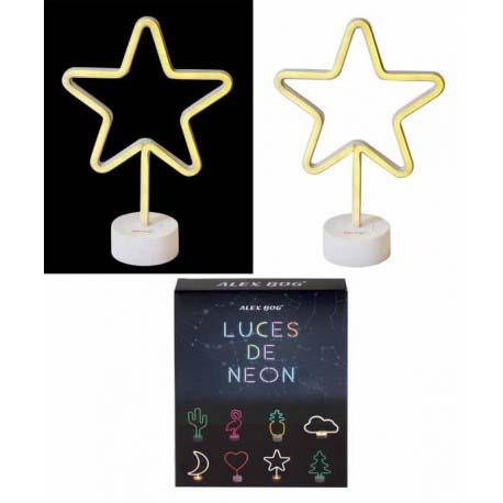 Lampara De Neon Estrella