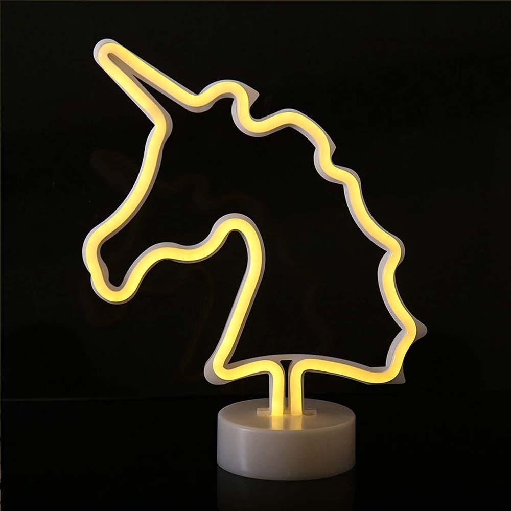Lampara De Neon Unicornio