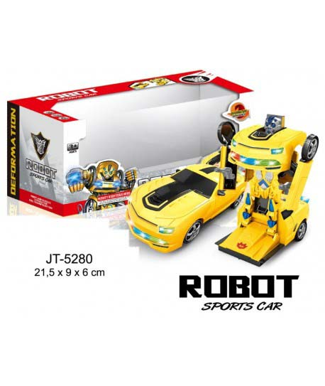 Transformer Coche Sport Robot