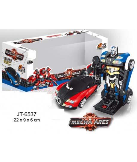 Transformer Coche Sport Mecha Ares Robot