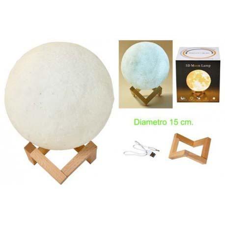 Lampara Luna 15 Cm