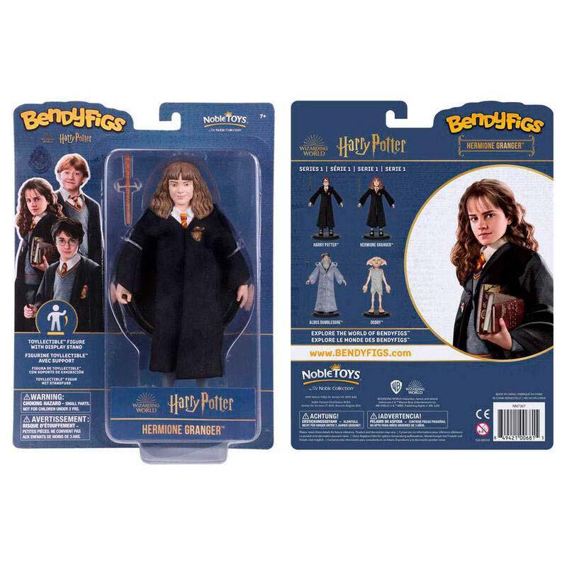 Figura Maleable Bendyfigs Hermione Con Varita Harry Potter